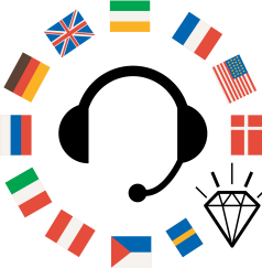 60カ国以上の講師