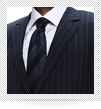ハロッズ スーツ グレー