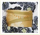 Kansai.yukata 浴衣セット ホワイト イメージ03