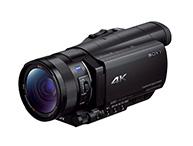 ハンディカメラ 【SONY】FDR-AX100