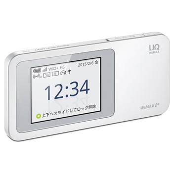 【UQ WiMAX/モバイルWiFi】Speed Wi-Fi NEXT W01