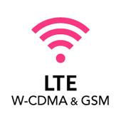 LTE W-CDMA & GSM