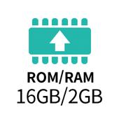 ROM/RAM 16GB/2GB