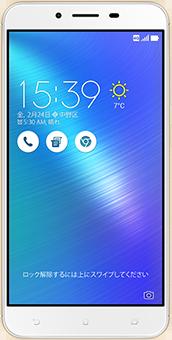 ZenFone3 Max(ZC553KL)