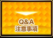 Q&A 注意事項