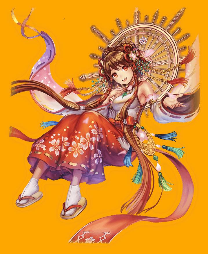 日輪桜のアマテラス