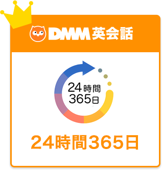 DMM英会話 24時間365日