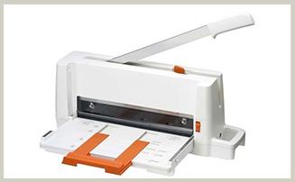 プラス 裁断機 コンパクト断裁機 PK-113 ホワイト