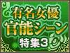 大好評に応え第3弾!有名女優官能シーン特集3
