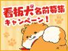 看板犬の名前募集キャンペーン開催!