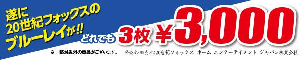 BD3枚3000円