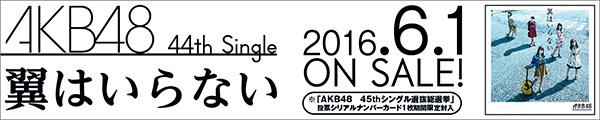 AKB48/翼はいらない 6.1 ON SALE
