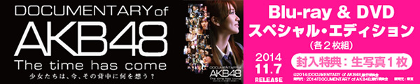 DOCUMENTARY of AKB48 11.7 ON SALE