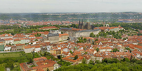Prague 34 Gigapixel Panorama Photo