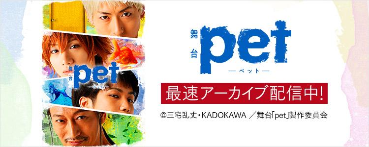 舞台「pet」