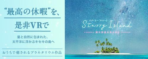 Starry Island 南十字星を見上げて