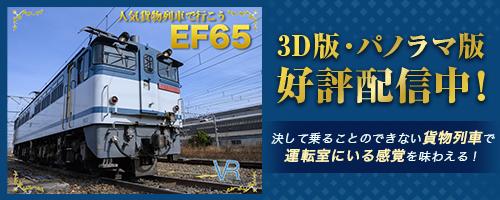 人気貨物列車で行こう EF65