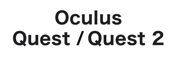 Oculus Quest/Oculus Quest 2