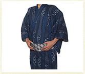R-KIKUCHI 浴衣セット ネイビー イメージ04