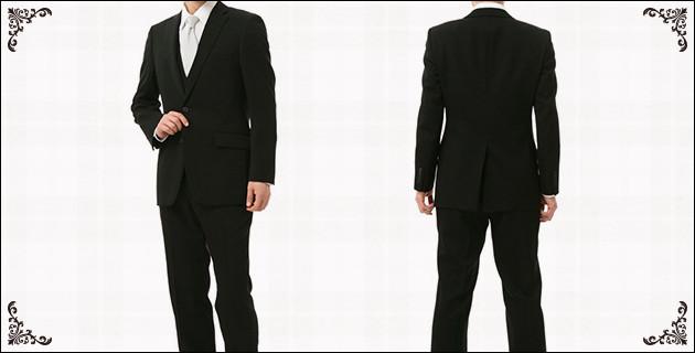 フォーマル スーツ ブラック