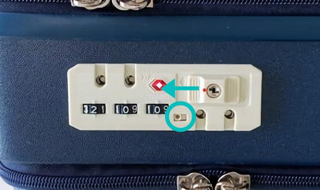 ハントマイン34LのTSAロックの使い方03