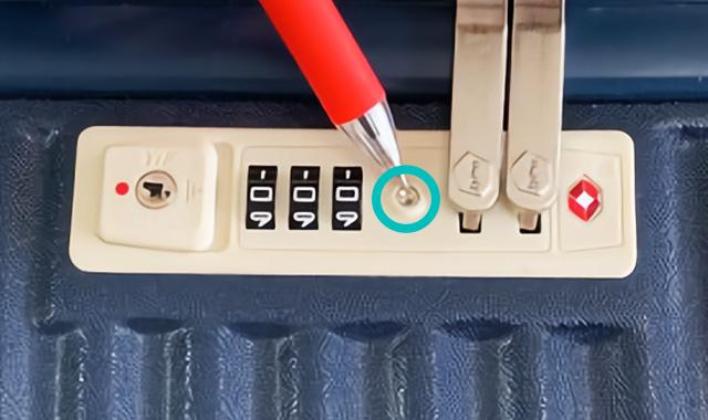 ハントマイン75LのTSAロックの使い方01