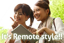 It's Remote style!!