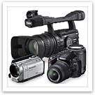 カメラ、ビデオカメラ