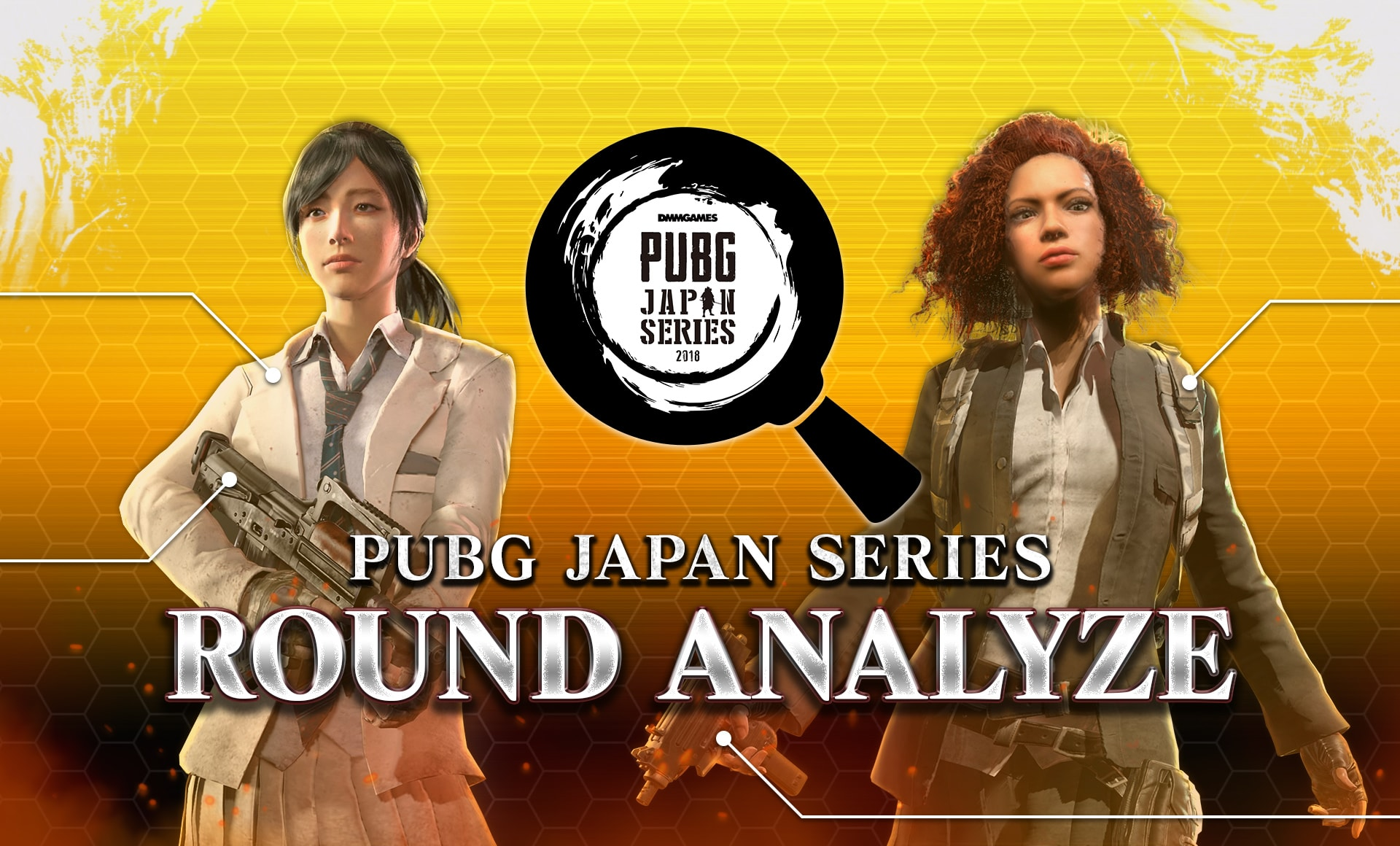 PUBG JAPAN SERIES αリーグ PHASE2 DAY6 ROUND7 ANALYZE