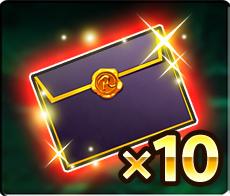 【限定】妖精の黒封筒10個